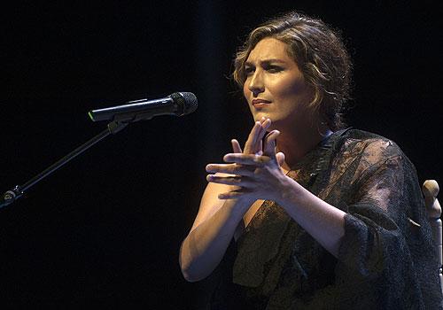 Concierto de Estrella Morente en el Teatro La Axerquía. Foto: Toni Blanco.