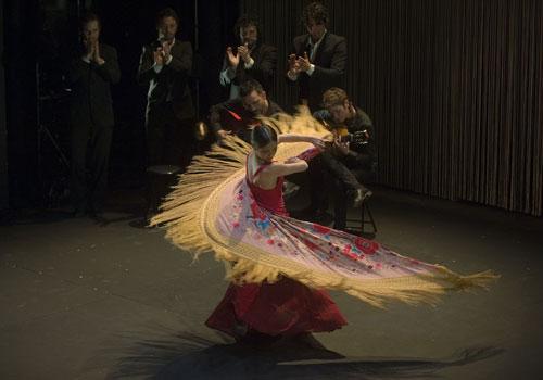 La bailaora cordobesa Olga Pericet participa en la presente edición de la Bienal de Flamenco.