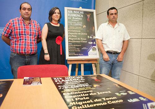 Presentación de la programación de la Noche Flamenca de Zambra