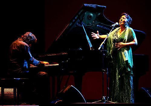 Carmen Linares, en la Bienal de Flamenco. Foto: Antonio Acedo.