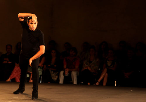 'Solo', espectáculo de Israel Galván en la Bienal de Flamenco de Sevilla 2012. Foto: Archivo.