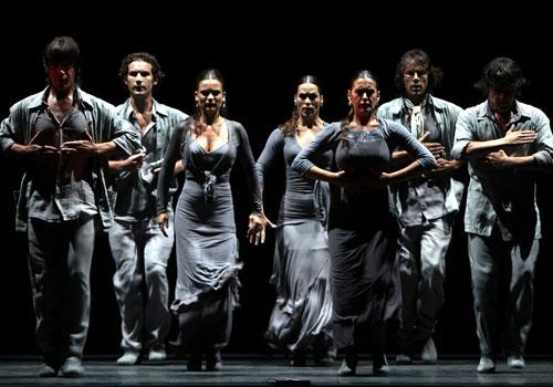 'Utopía', de María Pagés, en el Teatro Maestranza de Sevilla. Foto: Antonio Acedo.