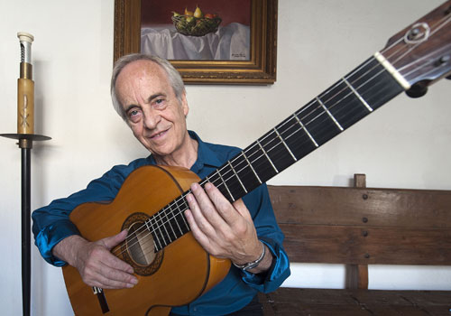 Entrevista a Paco Peña, guitarrista de flamenco de Córdoba