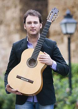 José Tomás Jiménez, guitarrista de flamenco de Córdoba. Foto: Toni Blanco