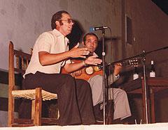 Emilio Rosales, cantaor de flamenco de Córdoba