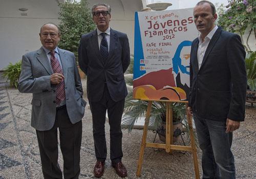 Presentación del jurado del X Certamen de Jóvenes Flamencos. Foto: Toni Blanco.