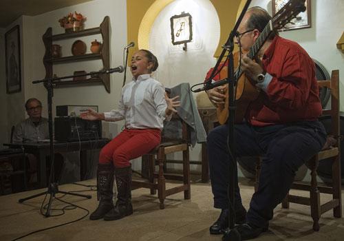 Fase de clasificación del Premio Agustín Gómez de Flamenco. Foto: Toni Blanco.