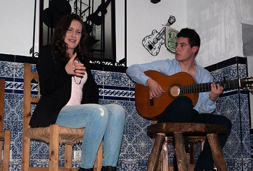 JRecital de cante de Belén Vega en el Rincón Flamenco.Foto: A. Higuera