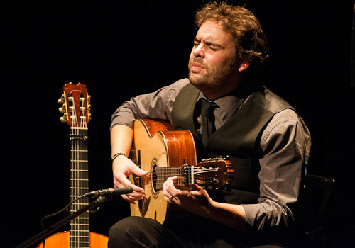 Concierto de Dani de Morón en los 'Jueves Flamencos' de Cajasol. Foto:Adam Newby.