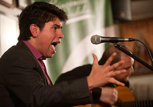 José Muñoz 'Toto Hijo' será uno de los artistas participantes en la nuev edición de 'Solera Flamenca'. Foto: Toni Blanco.