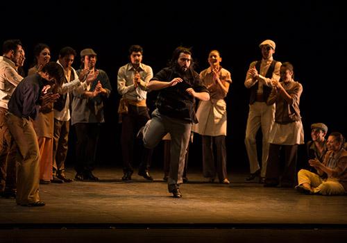 'La Consagración', de Rafael Estévez y Valeriano Paños. Foto: cordobaflamenca.com
