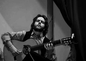 Luis Medina, guitarrista flamenco.