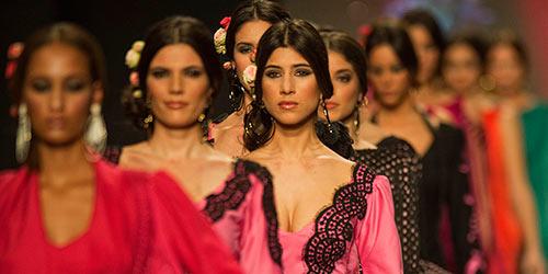 Desfile del Salón Internacional de Moda Flamenca Simof 2012