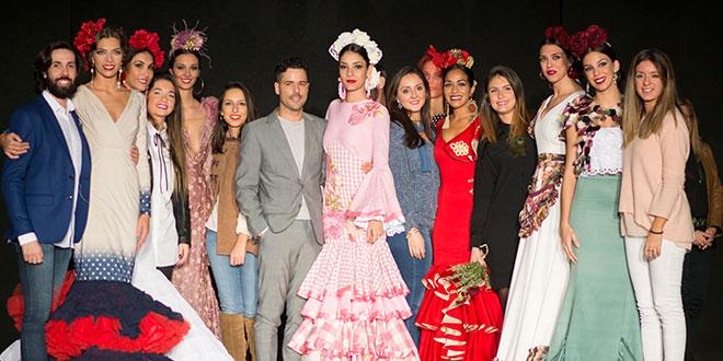 Sevilla busca a los nuevos valores de la moda flamenca - Disenadores de sevilla ...