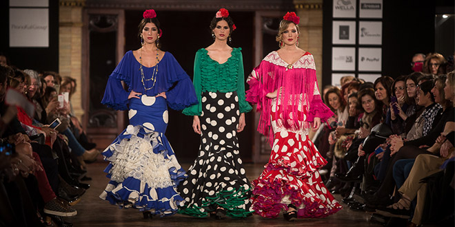 cbbdf0ab4 We love flamenco 2016. El Ajolí | Moda Flamenca