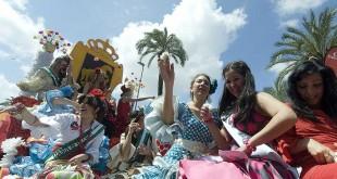 Mayo Festivo en Córdoba. Batalla de las Flores.