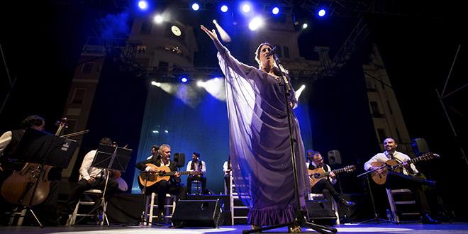 Argentina inauguró la novena edición de la Noche Blanca del Flamenco. Foto: Miguel Valverde.