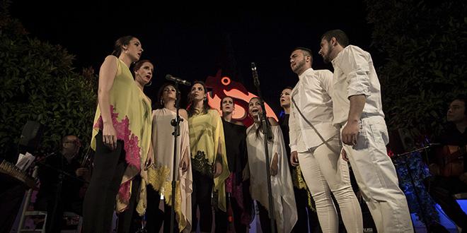 Alumnos de la Escuela Yo Canto. Foto: Miguel Valverde.