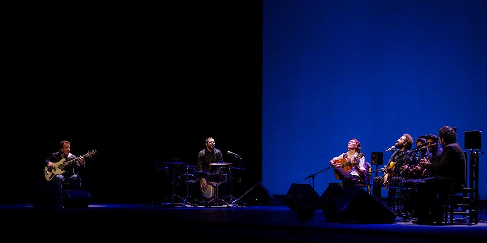 Concierto de Vicente Amigo en la Bienal de Flamenco de Sevilla. Foto: Óscar Romero.