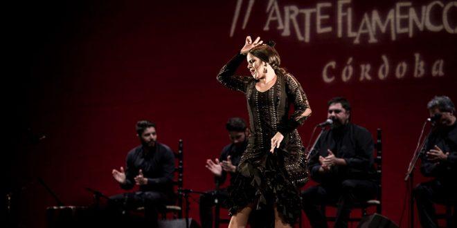 La gaditana María Moreno, en uno de los momentos de su actuación en la final del CNAF 2016. Foto: M. Valverde.