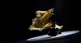 Eva Yerbabuena, en la presentación de su espectáculo 'Apariencias' en el Gran Teatro. Foto: M. Valverde.