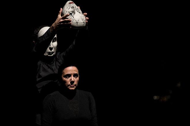 Eva Yerbabuena. Apariencias. Foto: M. Valverde.