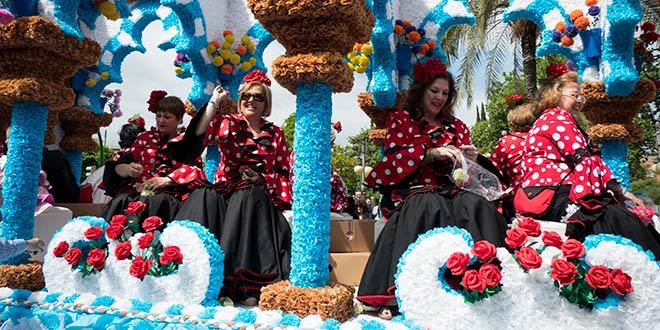 Mayo Festivo en Córdoba - Batalla de las Flores