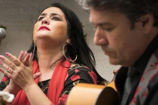 Anabel Álvarez Castillo y Luis Calderito. Posada del Potro - Centro Flamenco Fosforito.
