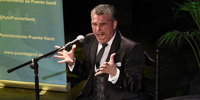 Manuel Romero, ganador del V Certamen de Cante Membrillo de Oro. Foto: cordobaflamenca.com