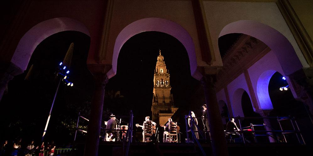 Noche Blanca del Flamenco de Córdoba 2017. Patio de los Naranjos. Foto: M. Valverde.