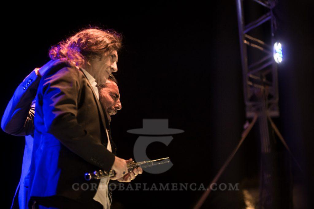 Jorge Pardo y Pedro El Granaino. Noche Blanca del Flamenco 2017. Foto: Miguel Valverde.