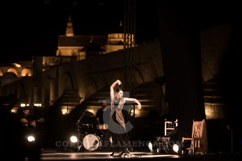 Ana Morales. Noche Blanca del Flamenco 2017. Foto: Miguel Valverde.