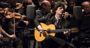 Concierto 'Al Andalus' para guitarra y orquesta de Juan Manuel Cañizares en Córdoba. Foto: cordobaflamenca.com