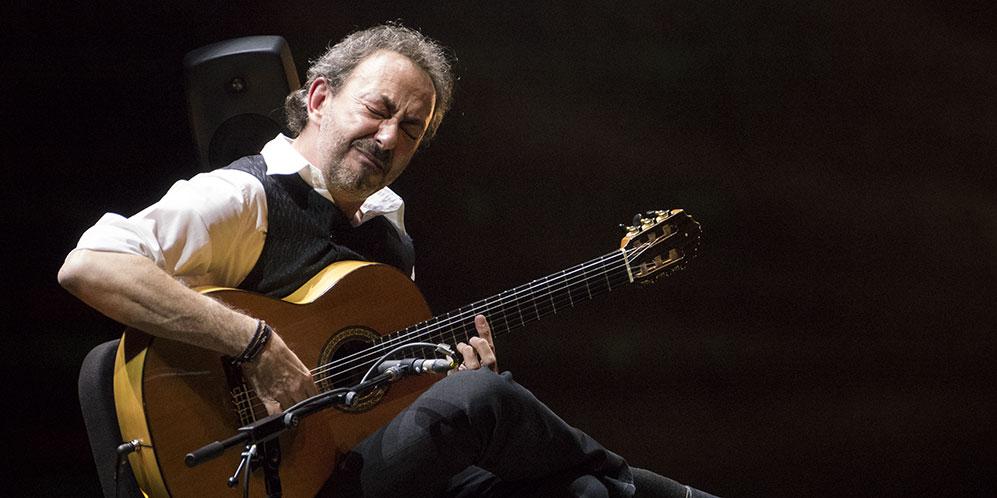 Concierto de José Antonio Rodríguez 'Manhattan de la Frontera' en el Festival de la Guitarra de Córdoba 2017. Foto: A. Higuera.