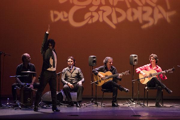 Baile de Keko en el concierto de Niño Pura en el Festival de la Guitarra. Foto: cordobaflamenca.com