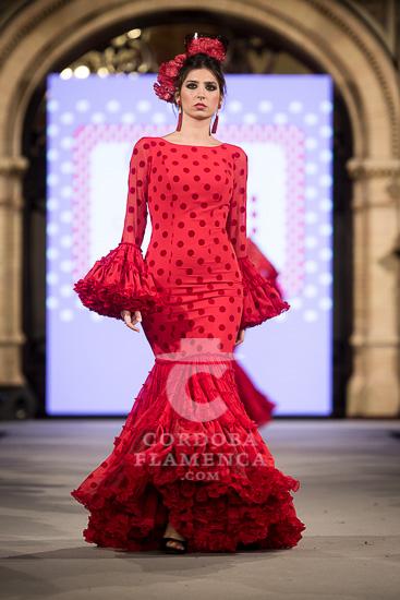 Carmen Acedo - We love Flamenco 2018 - Trajes de Flamenca 2018 - Moda Flamenca 2018