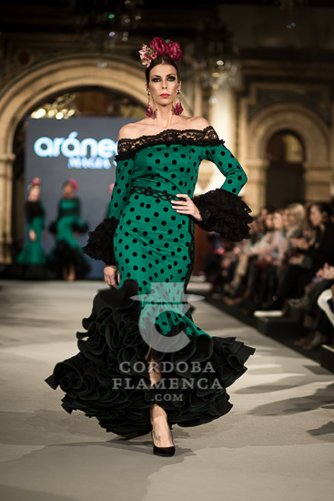 Aranega - We love Flamenco 2018 - Moda Flamenca - Trajes de Flamenca