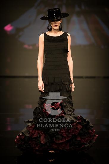 Simof 2108 - José Galvañ - Trajes de Flamenca - Moda Flamenca