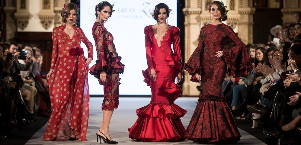 Marco Zapata - We love Flamenco 2018 - Moda Flamenca - Trajes de Flamenca