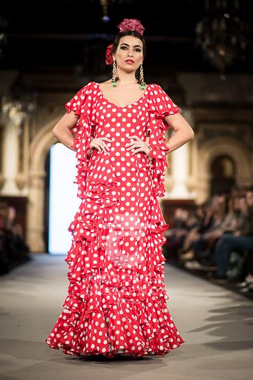 Mónica Méndez - We love Flamenco 2018 - Moda Flamenca 2018 - Trajes de Flamenca 2018