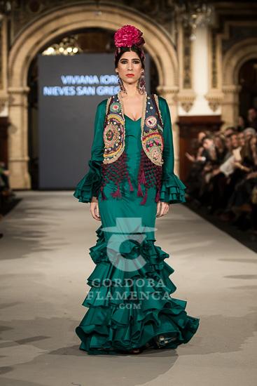 Viviana Iorio - We love Flamenco - Trajes de Flamenca 2018 - Moda Flamenca 2018
