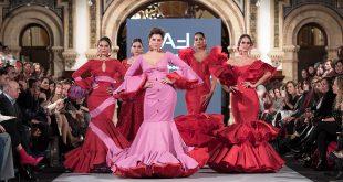 Presentación de la nueva colección de moda flamenca de la diseñadora Ángeles Fernández en We love Flamenco 2018.