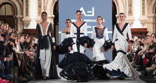 Colección de Ángeles Fernández en la segunda jornada de We love Flamenco 2018. Moda Flamenca. Trajes de Flamenca