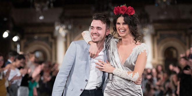 Colección de moda flamenca de Daniel Robles en la pasarela We love Flamenco 2018.