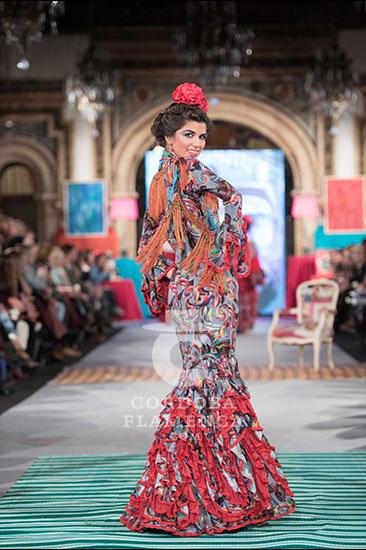 Flamenca Pol Núñez - We love Flamenco 2018 - Moda Flamenca - Trajes de Flamenca
