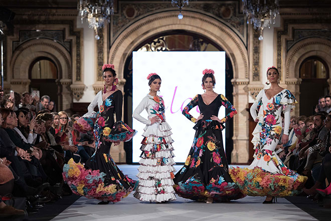 Santana Diseños - We love Flamenco 2018 - Moda Flamenca - Trajes de Flamenca
