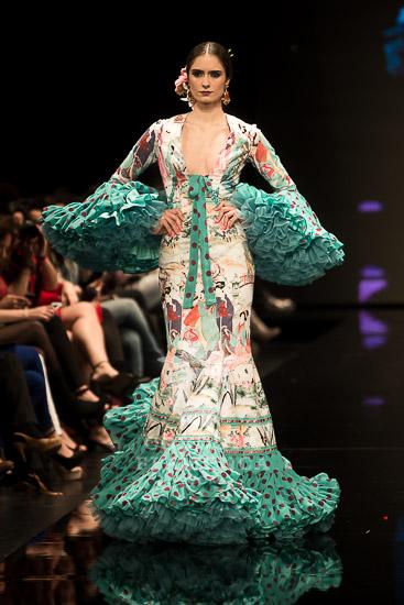 Simof 2018 - Alonso Cózar - Trajes de Flamenca - Moda Flamenca