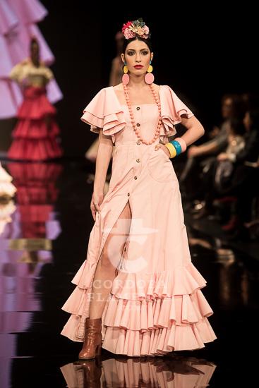 Simof 2018 - María José Blay - Trajes de Flamenca - Moda Flamenca - Tendencias moda flamenca 2018