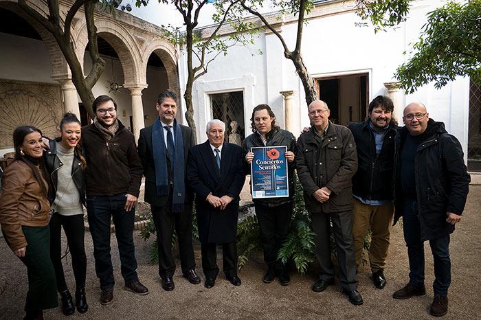 Conciertos Sentidos - Flamenco en la Magdalena - Fundación Cajasur - Palacio de Viana - Asociación de Artistas Flamencos de Córdoba