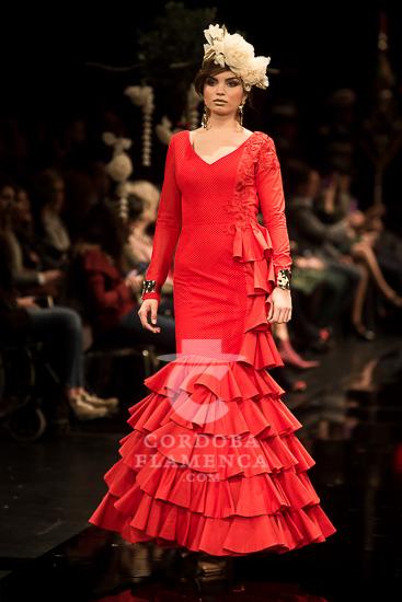 Simof 2018 - Javier García - Trajes de flamenca - Moda flamenca 2018 - Tendencias Moda Flamenca 2018